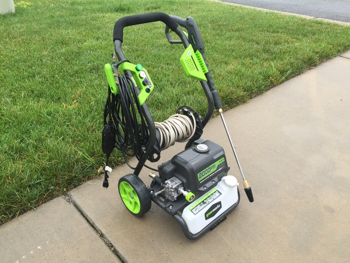 2000 PSI Electric Pressure Washer for Rent in Richmond, VA