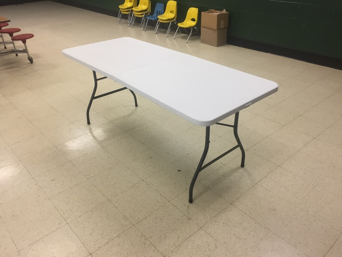 6' Portable Centerfold Table for Rent in Richmond, VA