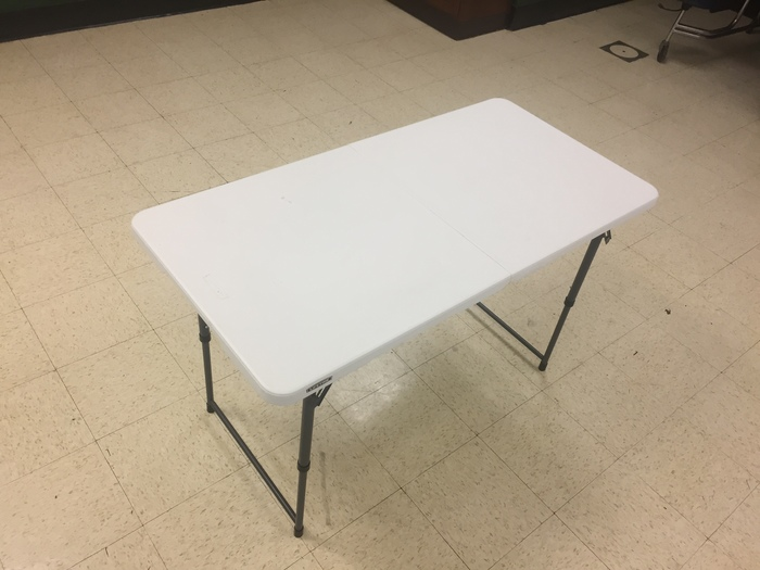 4' Folding Table for Rent in Richmond, VA
