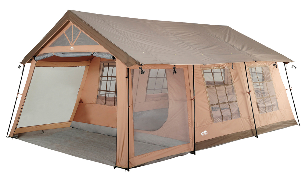 20'x10' 10-Person 3-Room Cabin Camping Tent with Screened Porch for Rent in Richmond, VA
